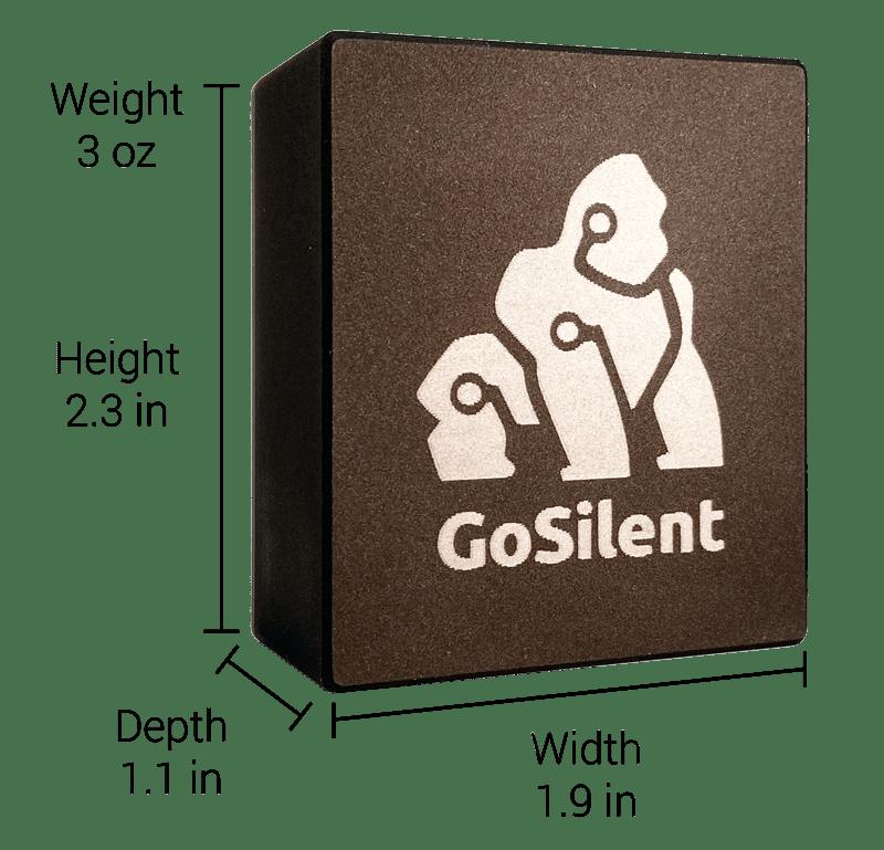 gosilent dimensions